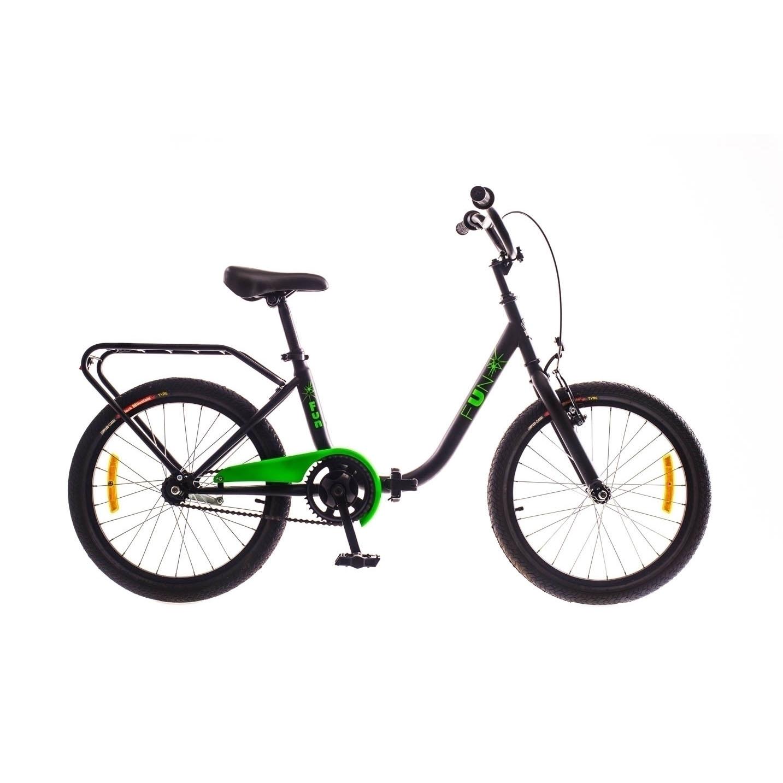 Фото Городской Велосипед 20 DOROZHNIK FUN черно-салатный  2017
