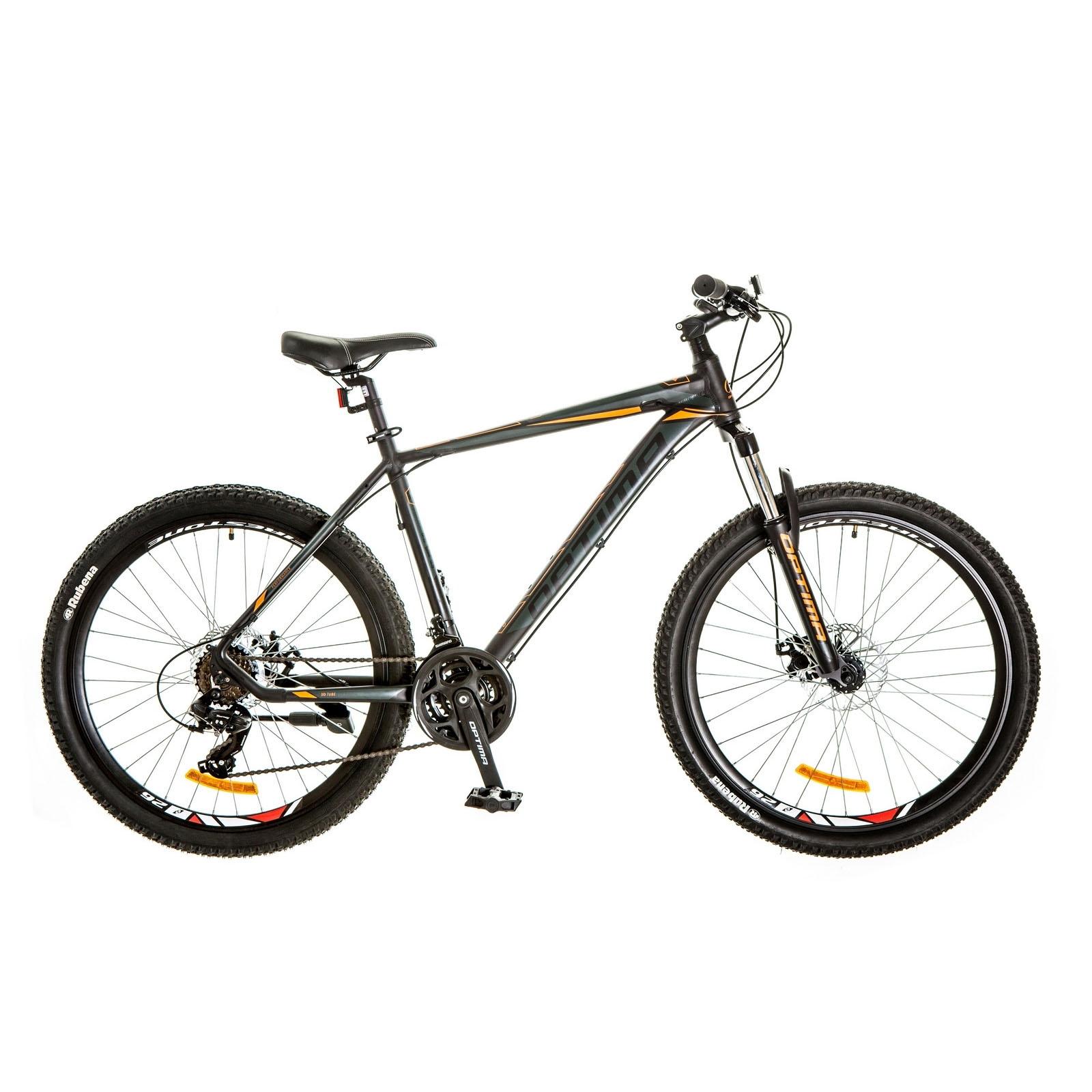 Фото Горный Велосипед 26 F-1 HDD  черно-оранжевый