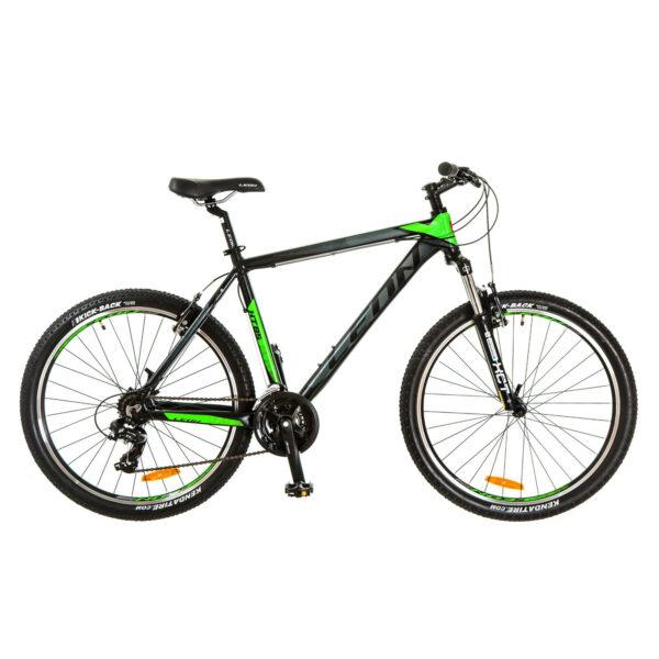 Фото Горный Велосипед 26 Leon HT-85 черно-зеленый 2017