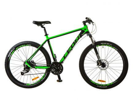 Фото Горный Велосипед 27.5 Leon XC-70 черно-зеленый 2017