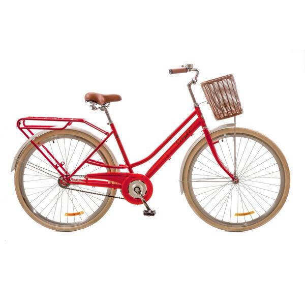 Фото Городской Велосипед 28 Dorozhnik COMFORT FEMALE красный