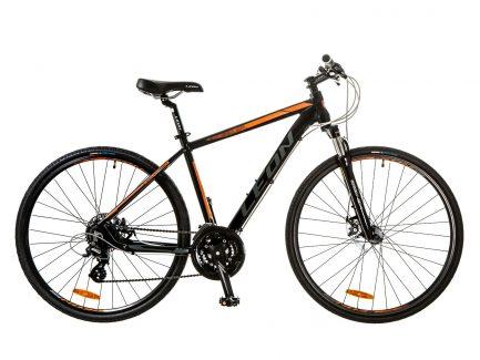 Фото Горный Велосипед 28 Leon HD-80 DD черно-оранжевый 2017