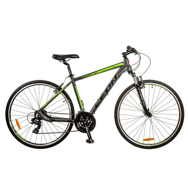 Фото Горный Велосипед 28 Leon HD-85 серо-зеленый 2017