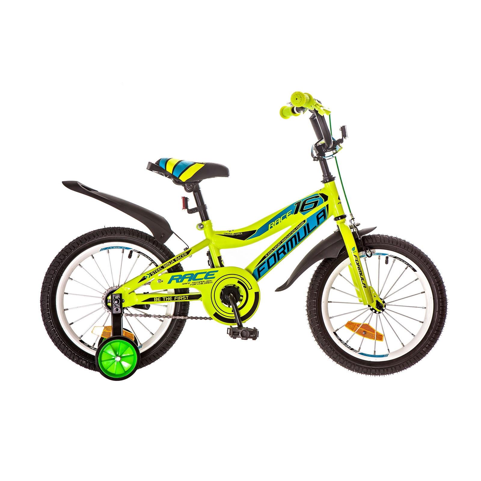 Фото Детский Велосипед 14 Formula RACE салатно-синий