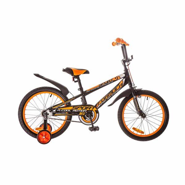 Фото Детский Велосипед 18 Formula SPORT черно-оранжевый 2018