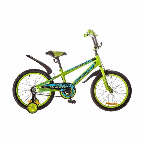 Фото Детский Велосипед 18 Formula SPORT зелено-синий 2018