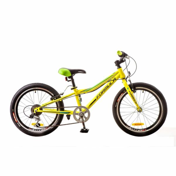 Фото Подростковый Детский Велосипед 20 Formula LIME салатный 2017