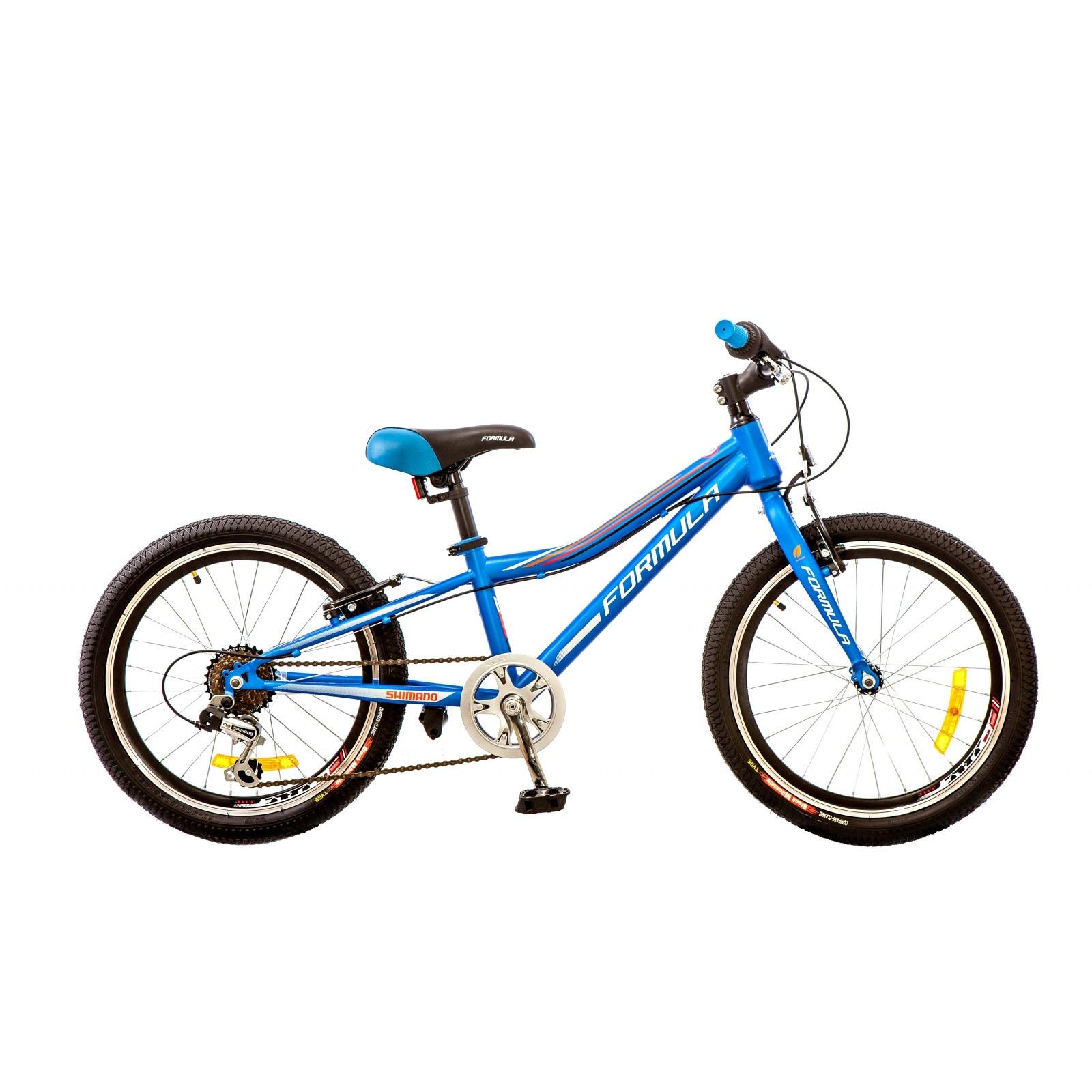 Фото Горный Детский Велосипед 20 Formula LIME синий 2017