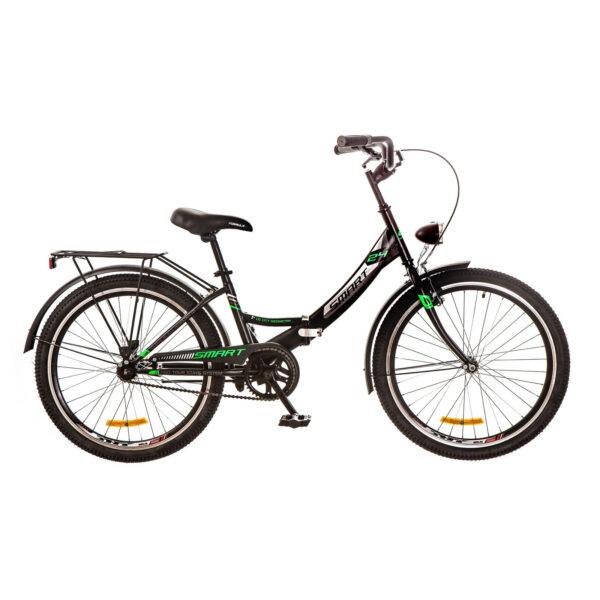 Фото Подростковый  Детский  Велосипед 24 Formula SMART черно-зеленый 2017