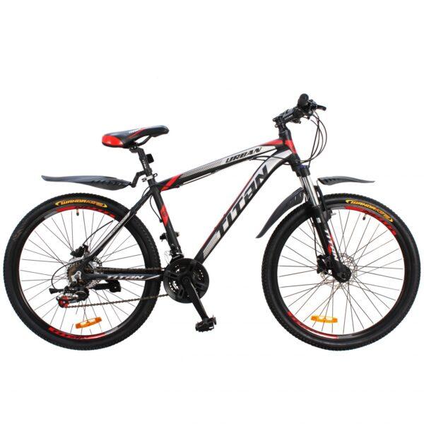 Фото Горный Велосипед Titan Urban 26 черно-красно-серый