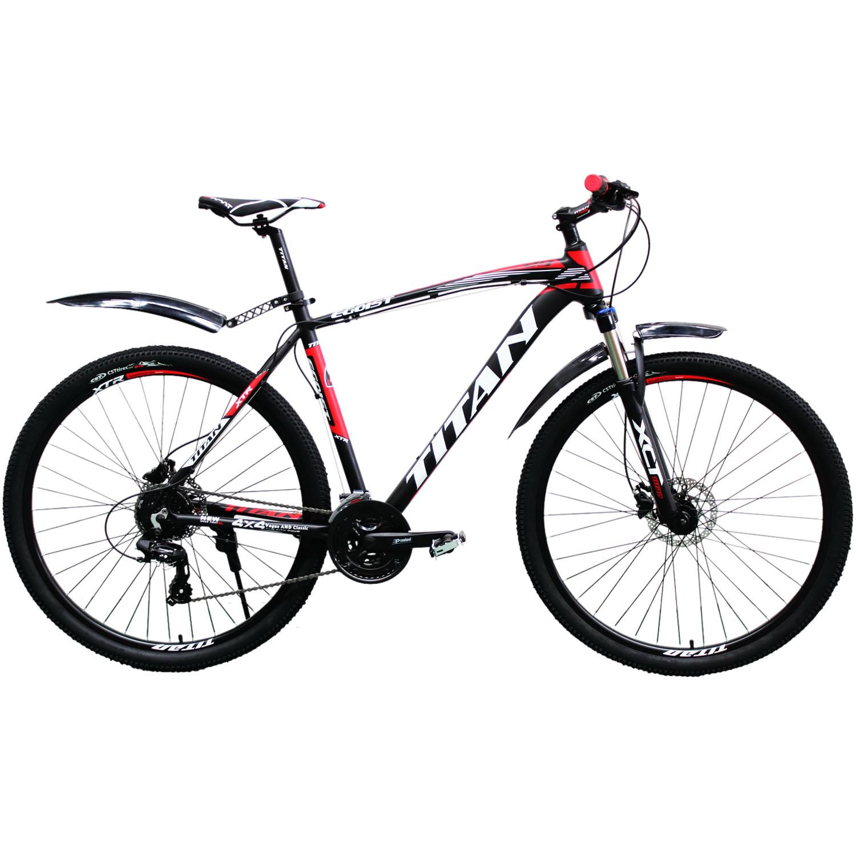 Фото Горный Велосипед Titan Egoist 29 черно-красно-серый