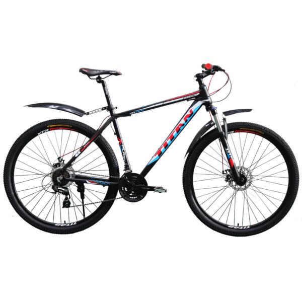 Фото Горный Велосипед Titan Flash 29 черно-красно-белый