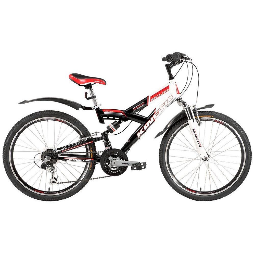Фото Подростковый  Велосипед Kinetic 24″ SAMURAI  15″ (черн-бел)