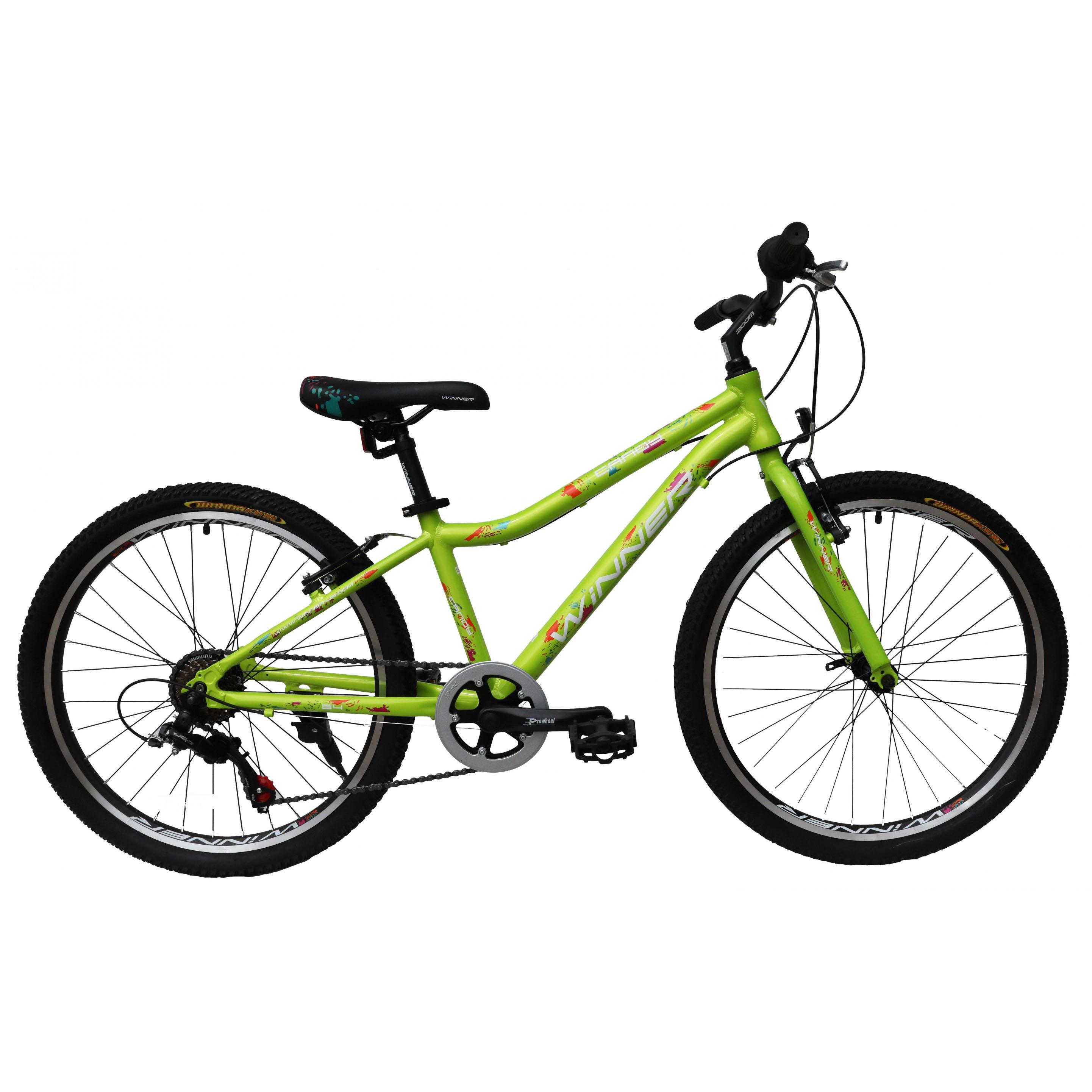 Фото Подростковый Велосипед Winner 24″ CANDY 13″ (зеленый)