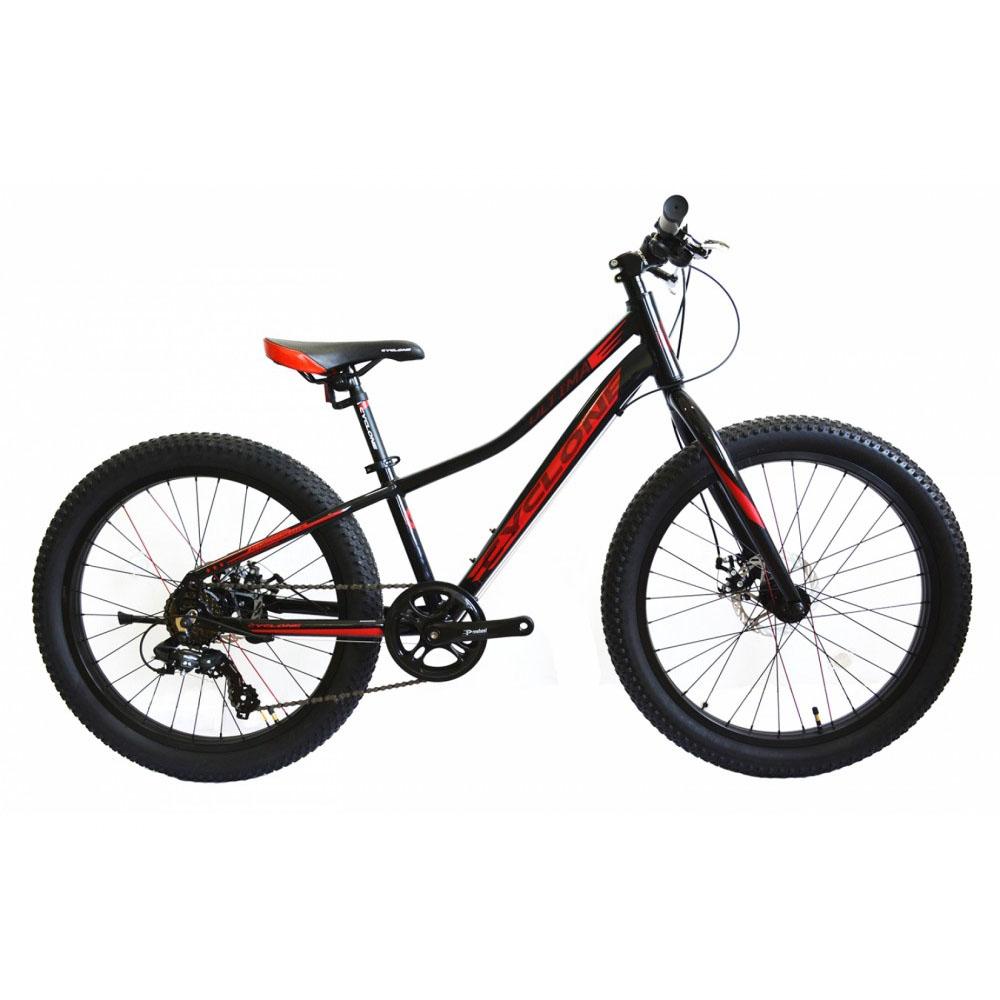 Фото Горный Велосипед CYCLONE  24″ ULTIMA   3.0 (черн-красн)