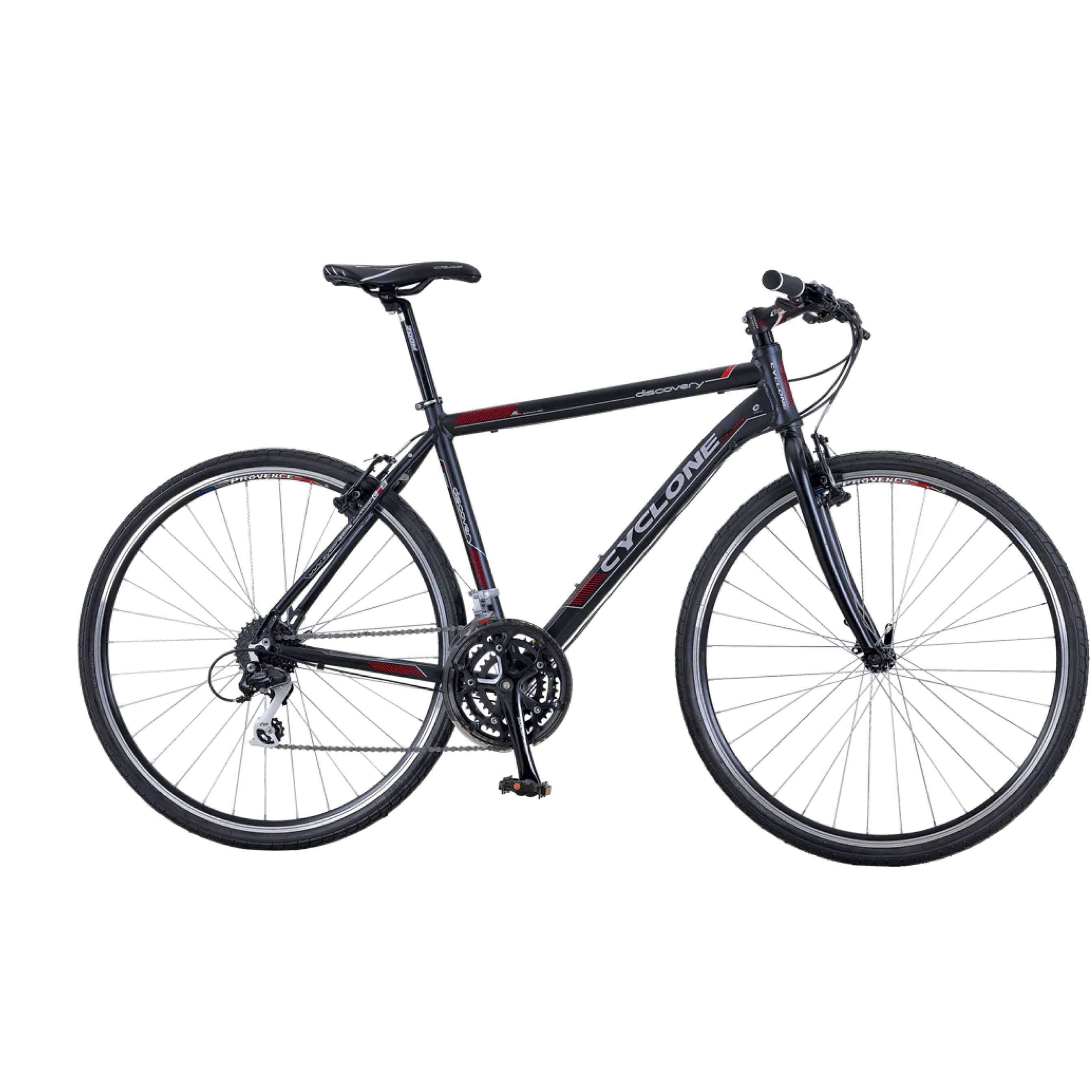 Фото Городской Велосипед Cyclone 28″ DISCOVERY- HYBRID 19″ (черный)