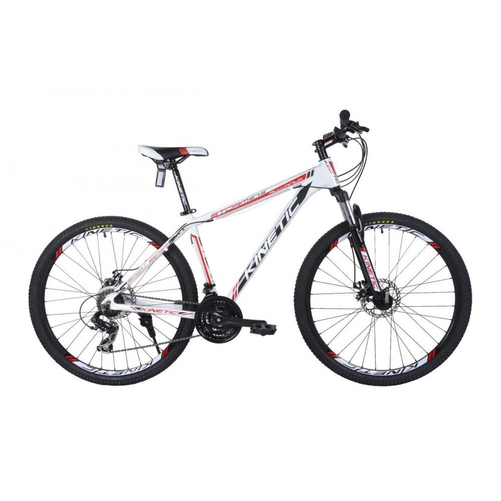Фото Горный Велосипед  KINETIC 27,5″ STORM — ALU 21″ (белый-красный)