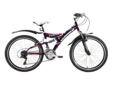 Фото Подростковый Велосипед Winner 24 TWISTER (фиолет)