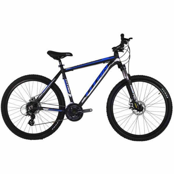 Фото Горный Велосипед Titan Grizlly 27 черно-сине-серый