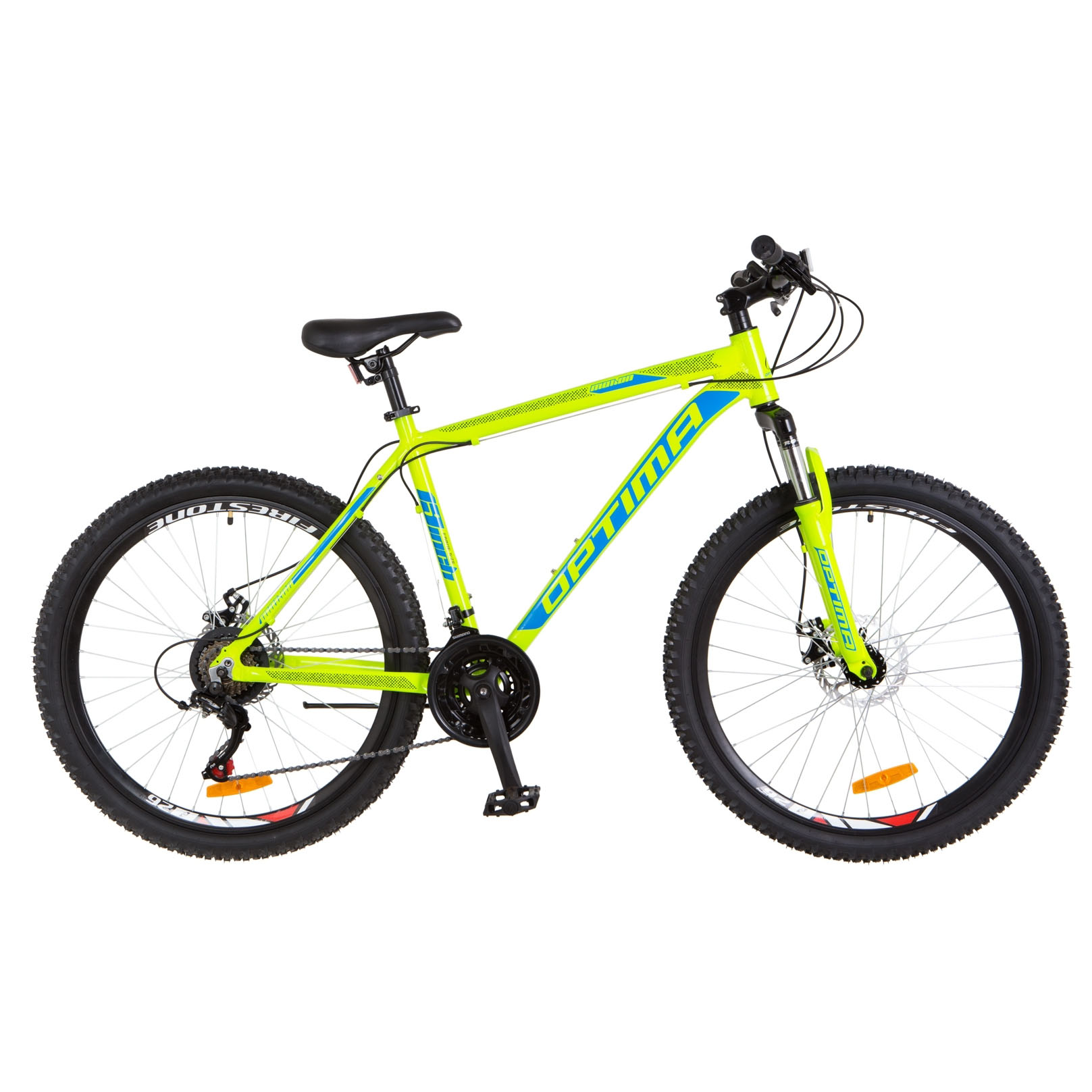 Фото Горный Велосипед 26 Optimabikes MOTION DD салатно-синий