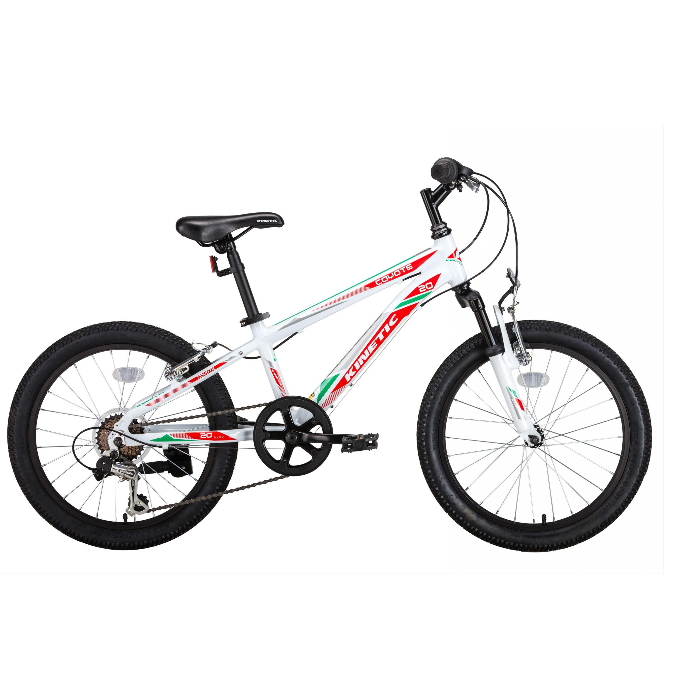 Фото Горный Детский Велосипед  Kinetic 20″ COYOTE  11″ (белый)