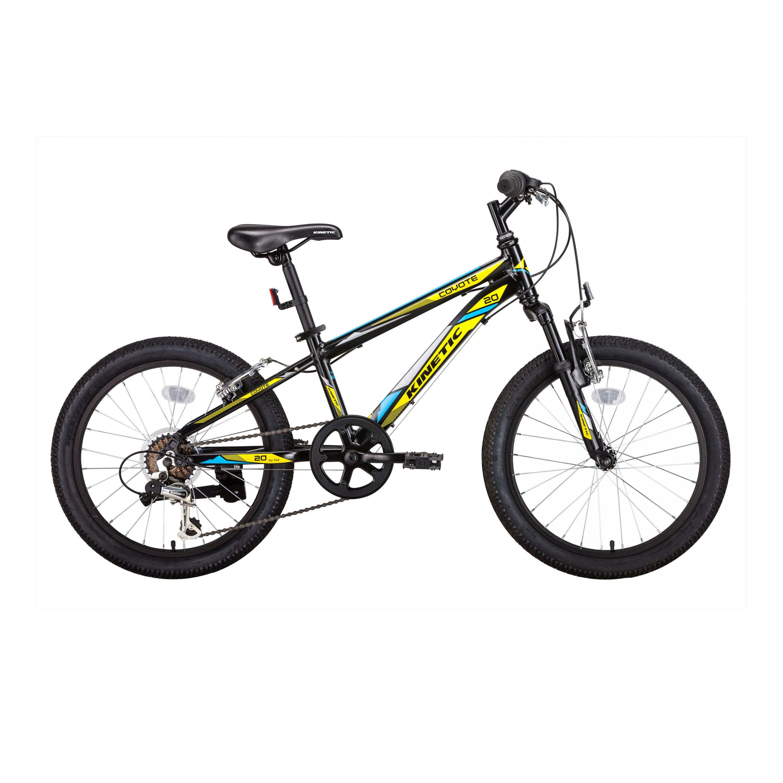Фото Горный Детский Велосипед Kinetic 20″ COYOTE  11″ (черн-желт)