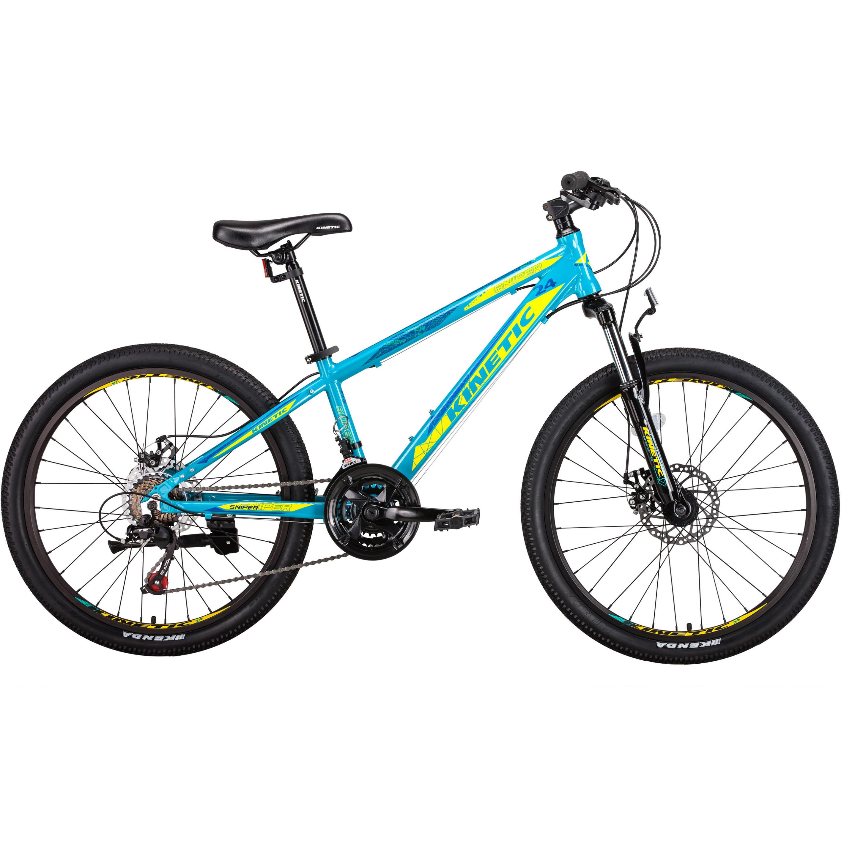 Фото Подростковый Велосипед Kinetic 24″ SNIPER  12″ (голубой)