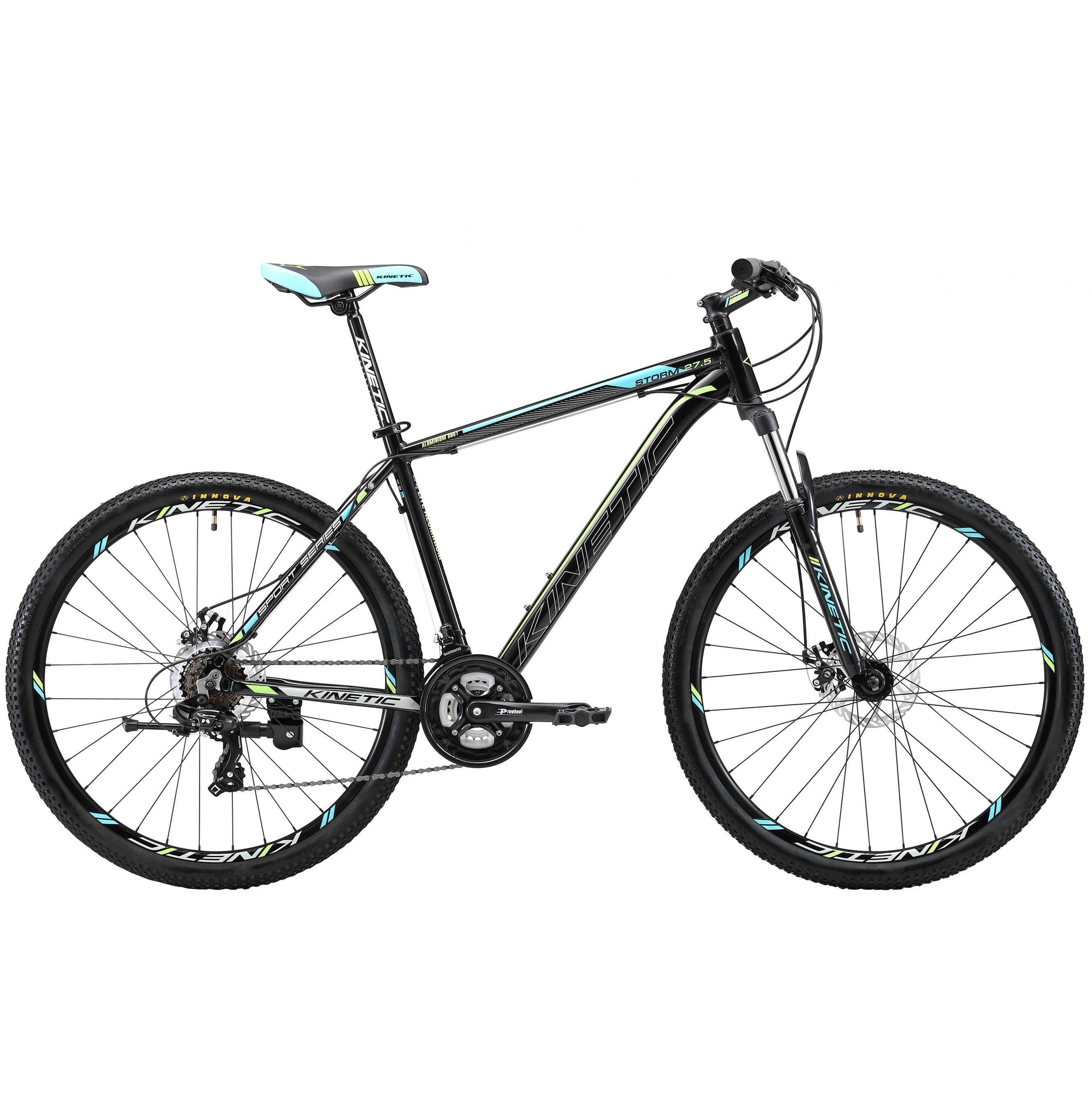 Фото Горный Велосипед Kinetic 27,5″ STORM  21″ (черн-голубой)