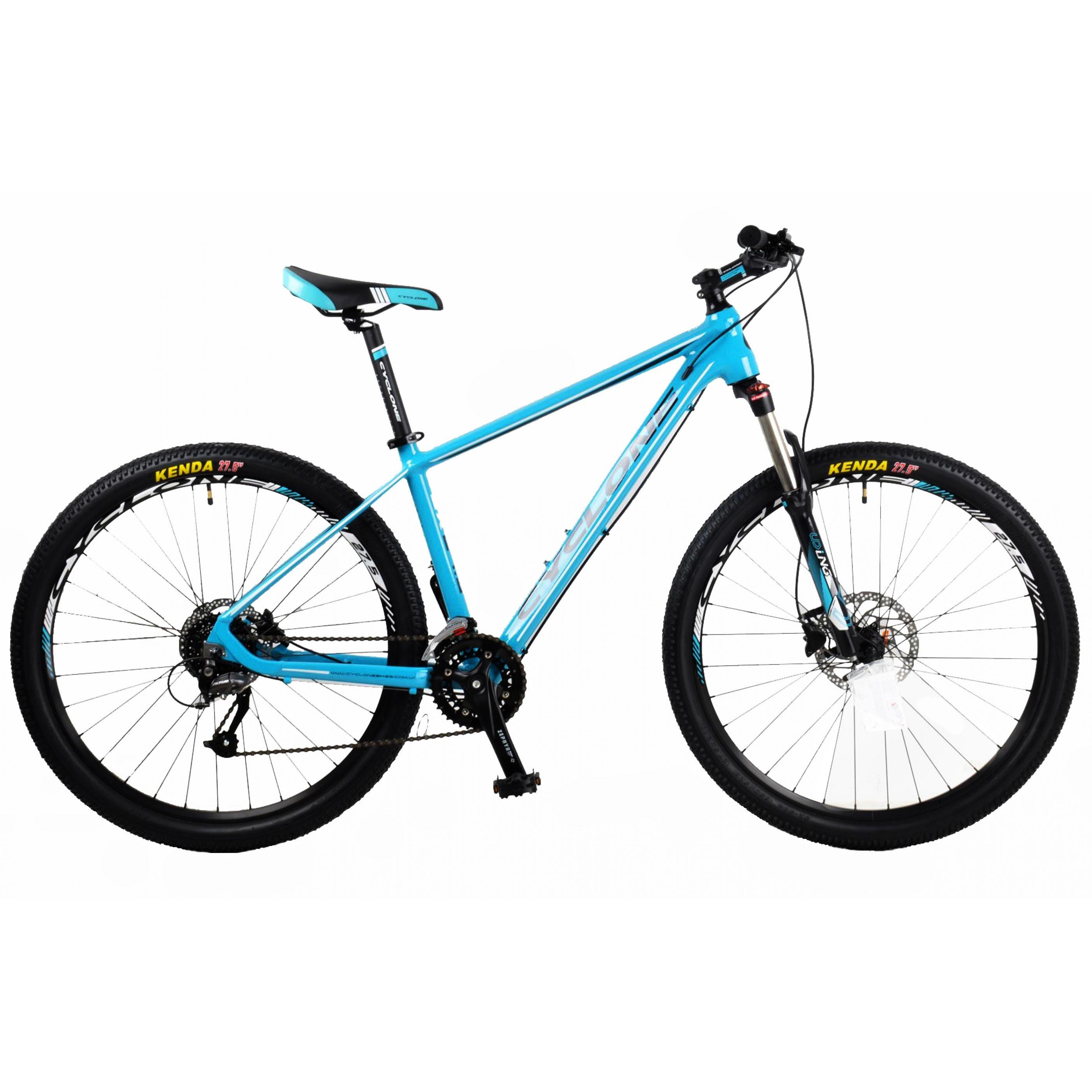 Фото Горный Велосипед CYCLONE 27,5″ SX 19″ (голубой)
