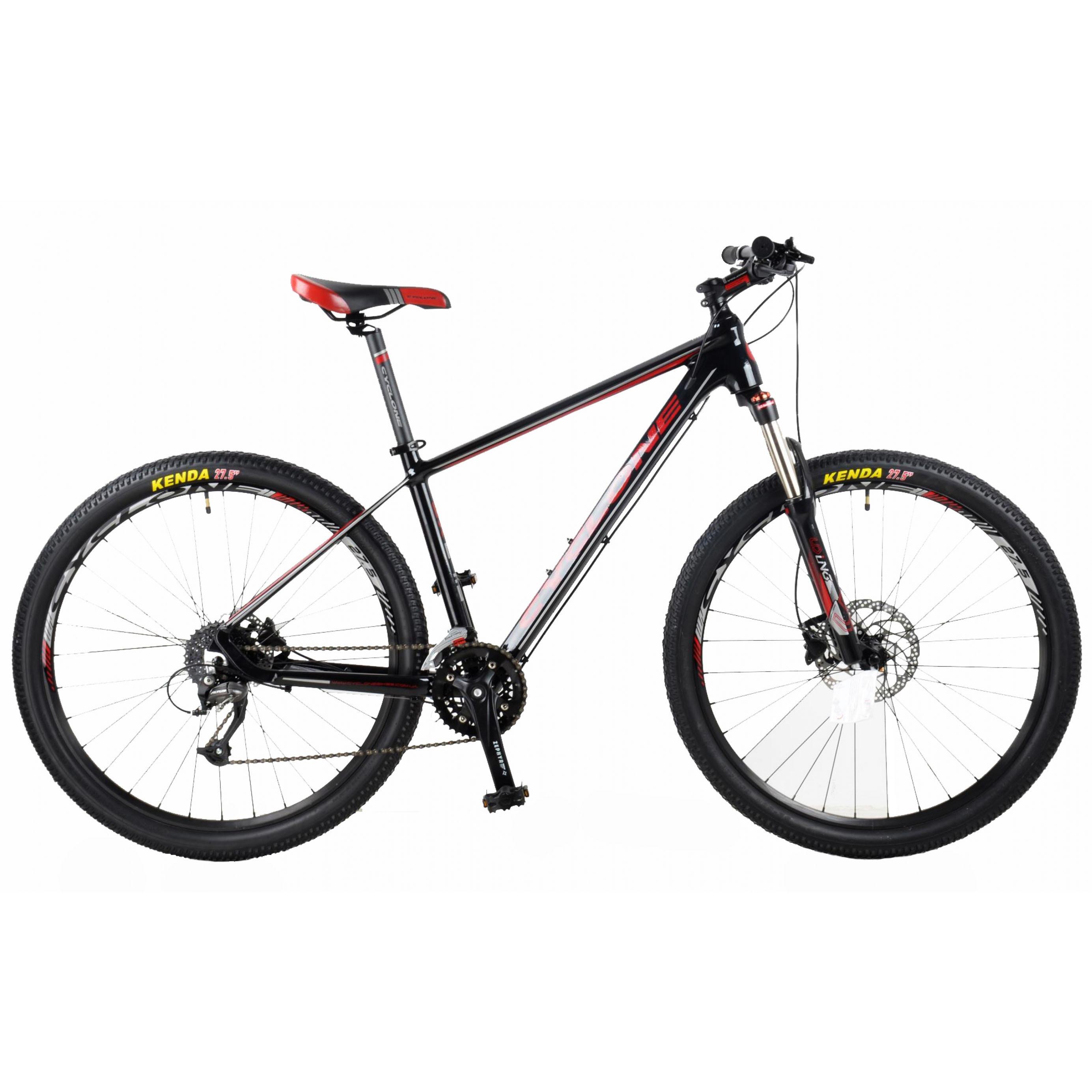 Фото Горный Велосипед CYCLONE 27,5″ SX 19″ (черн-красн)