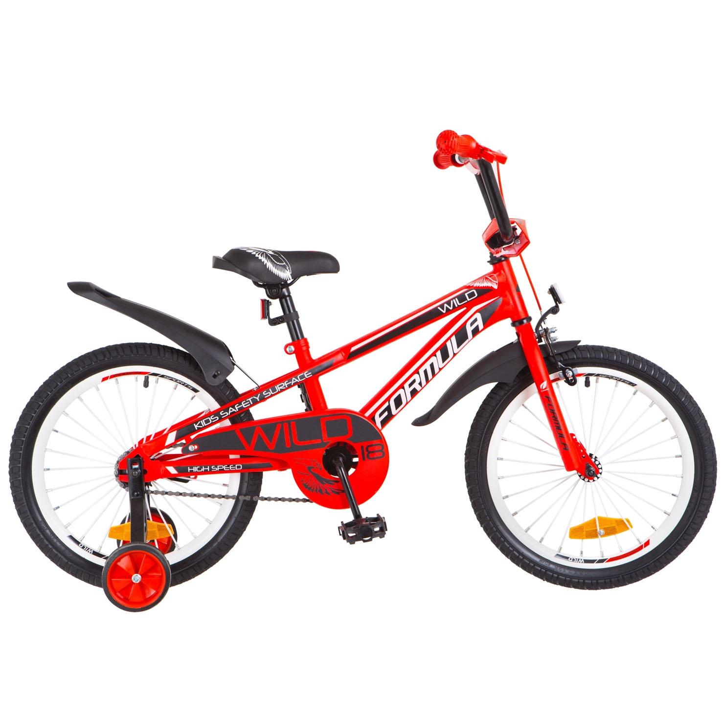 Фото Детский Велосипед 18 FORMULA WILD красный 2018