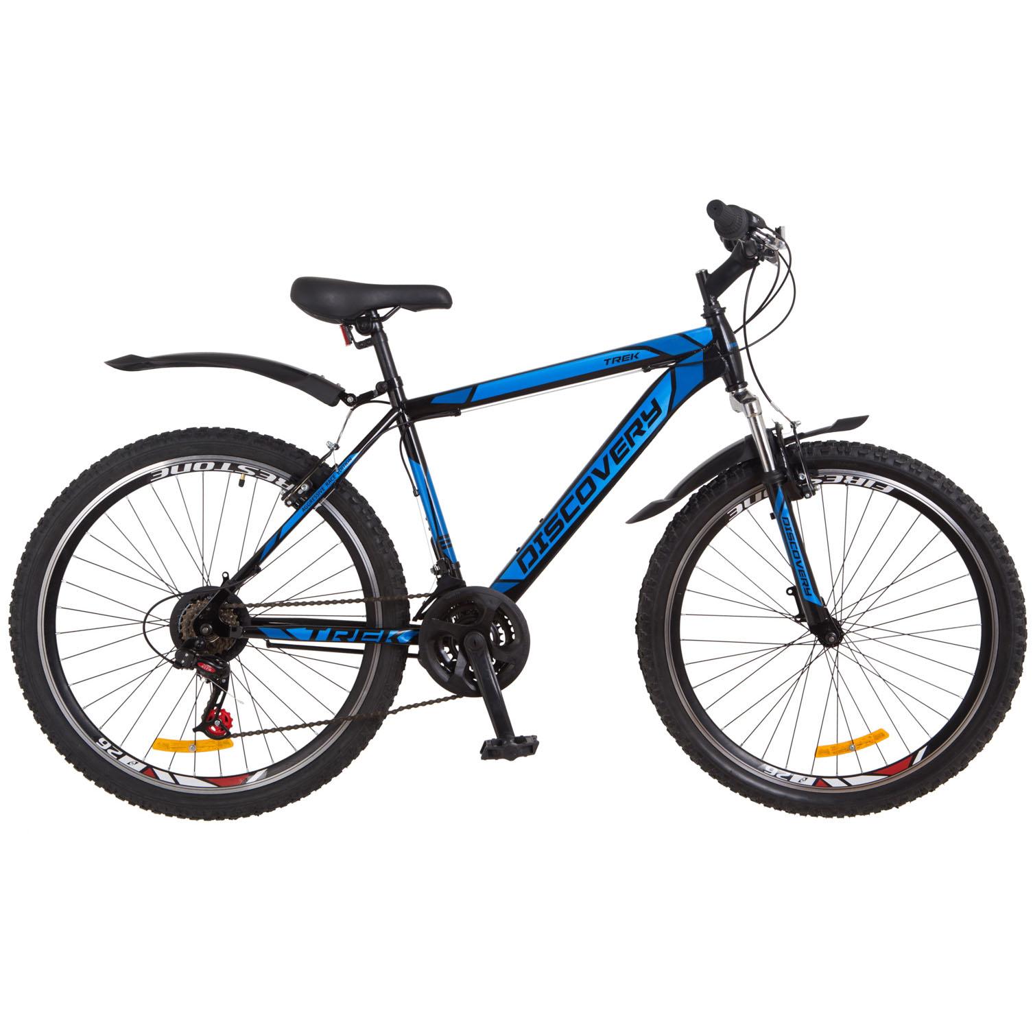 Фото Горный Велосипед 26 Discovery TREK черно-синий 2018