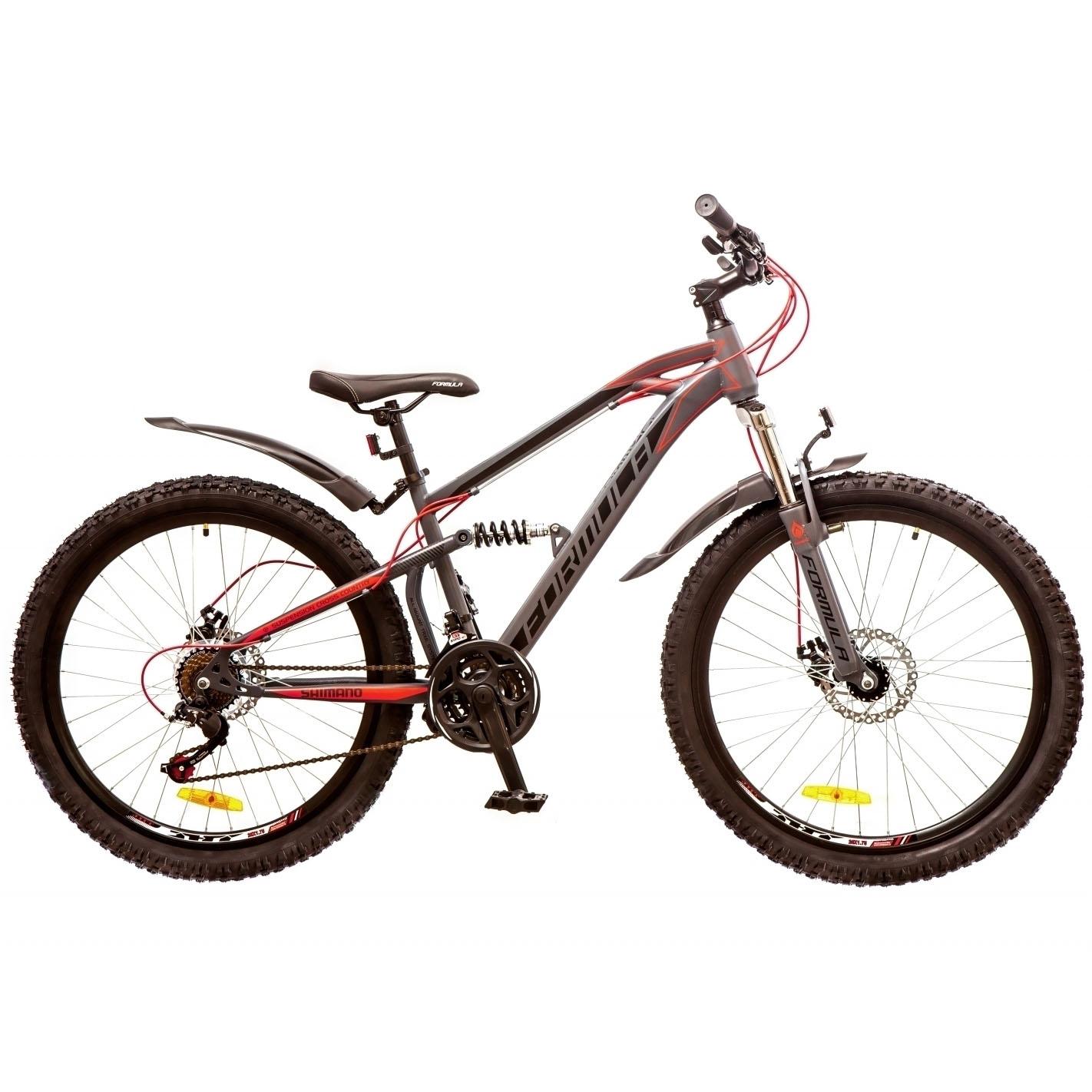 Фото Горный Велосипед 26 Formula BLAZE DD серо-красный