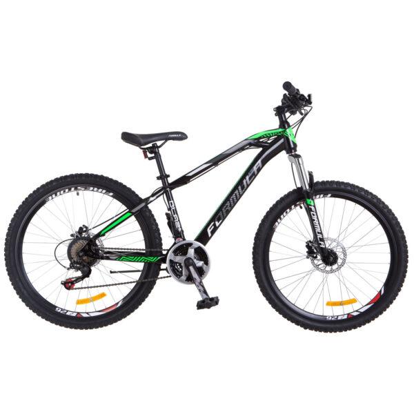 Фото Горный Велосипед 26 Formula BLAZE DD черно-зелен. 2018