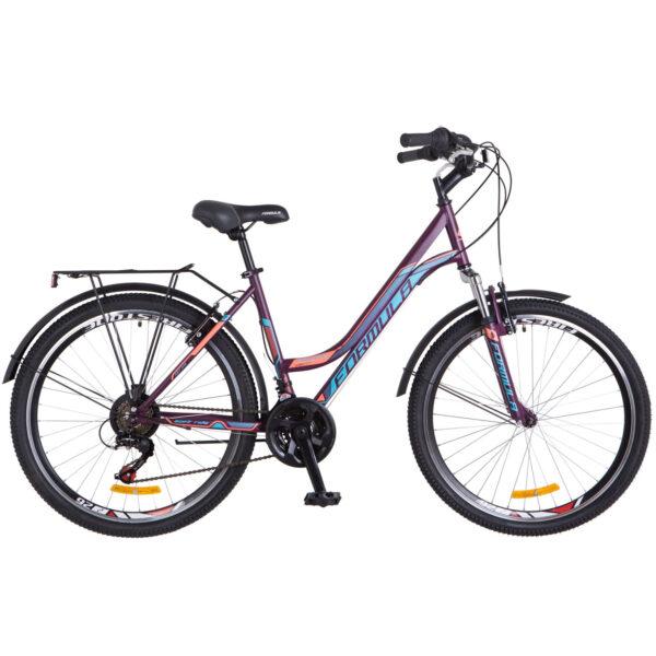 Фото Женский Велосипед 26 Formula OMEGA фиолетовый 2018