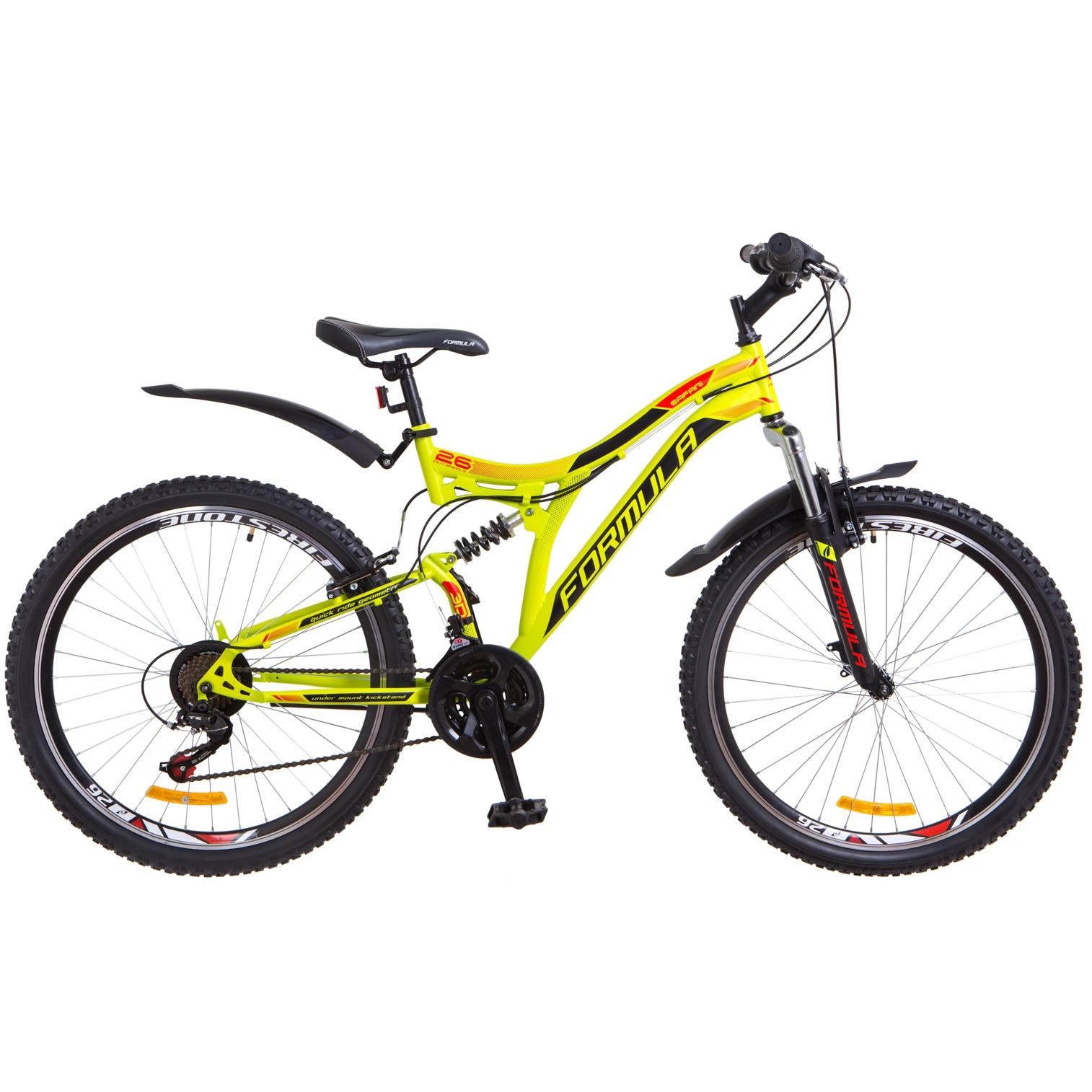 Фото Горный Велосипед 26 Formula SAFARI салатно-оранжевый 2018