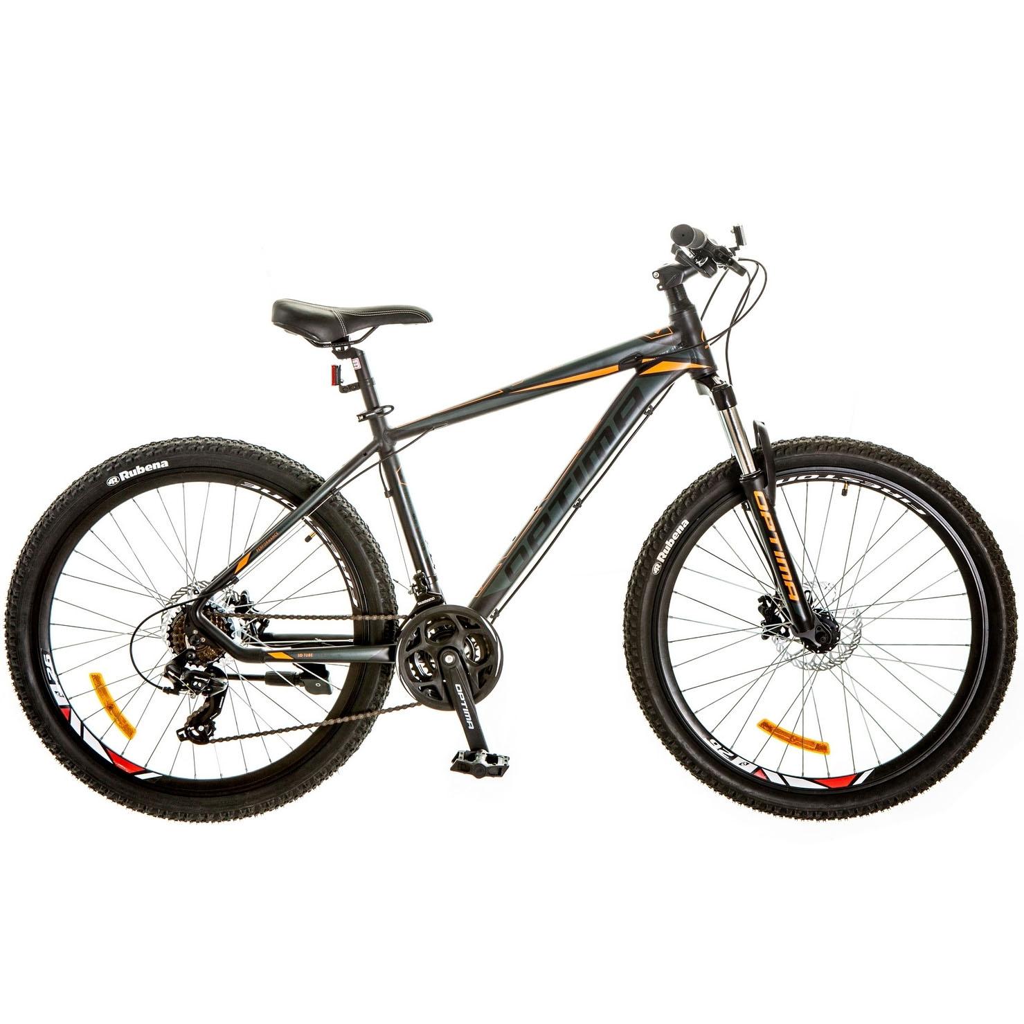 Фото Горный Велосипед 26 Optimabikes F-1 HDD 17″ черно-оранжевый