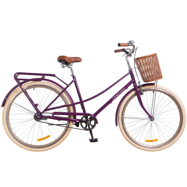 Фото Городской Велосипед 28 Dorozhnik COMFORT FEMALE фиолетовый