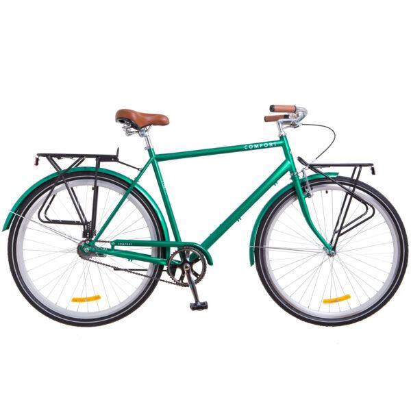 Фото Городской Велосипед 28 Dorozhnik COMFORT MALE зеленый