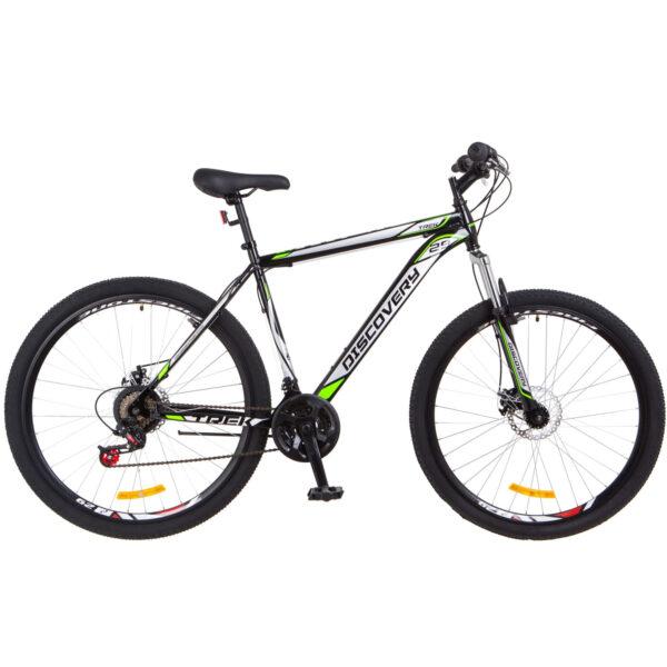 Фото Горный Велосипед 29 Discovery TREK DD черно-салатный 2018