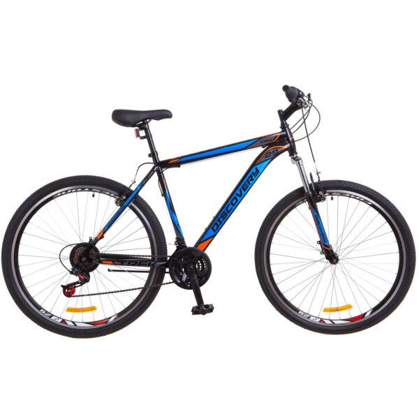 Фото Горный Велосипед 29 Discovery TREK черно-оранжевый с синим 2018