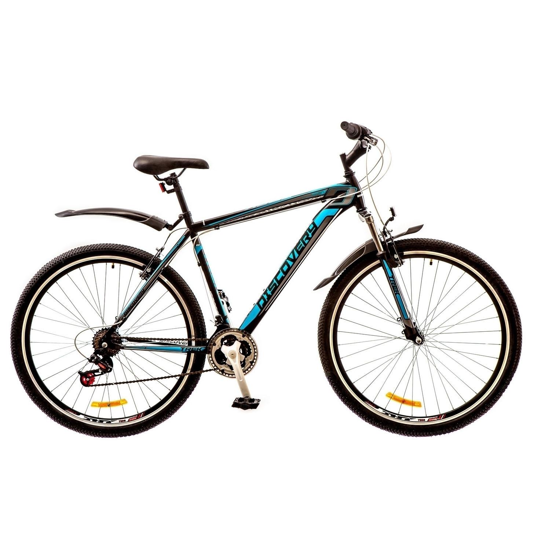 Фото Горный Велосипед 29 Discovery TREK черно-сине-серый 2017