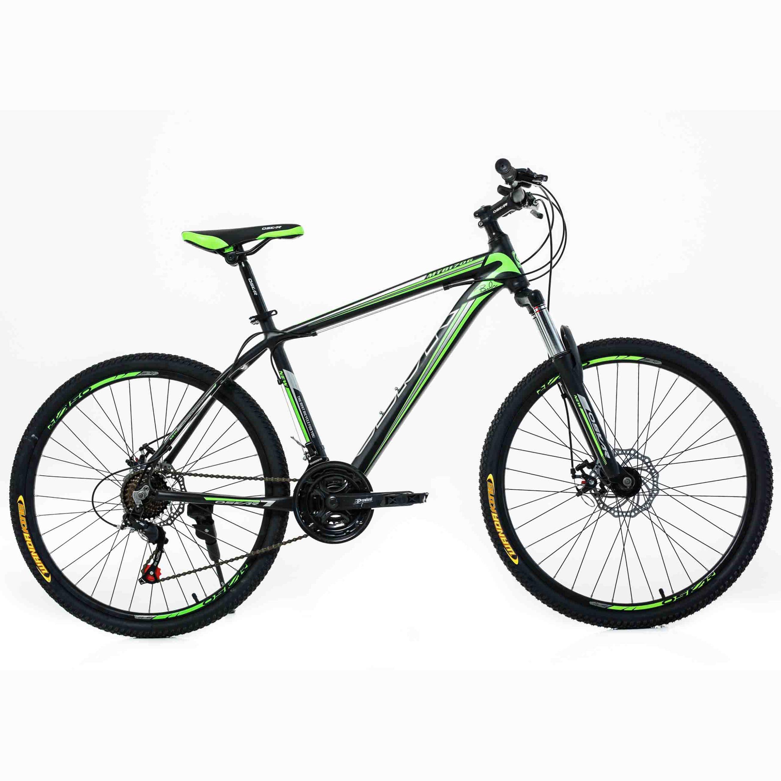 Фото Горный Велосипед Oskar 1706 26 черно-зеленый