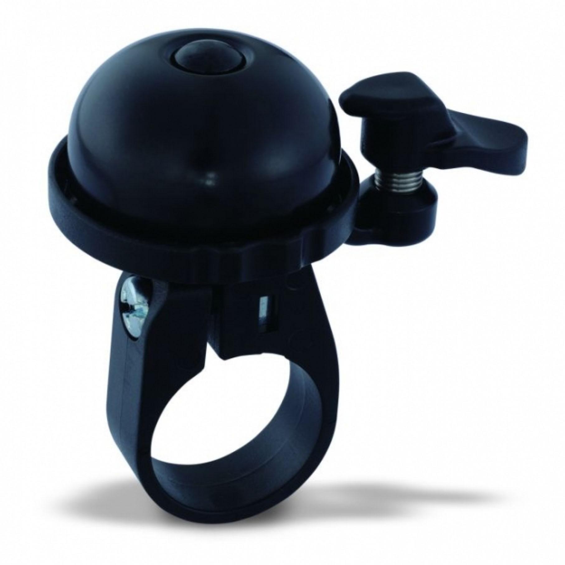 Фото Звонок VENZO с креплением на 22мм черный