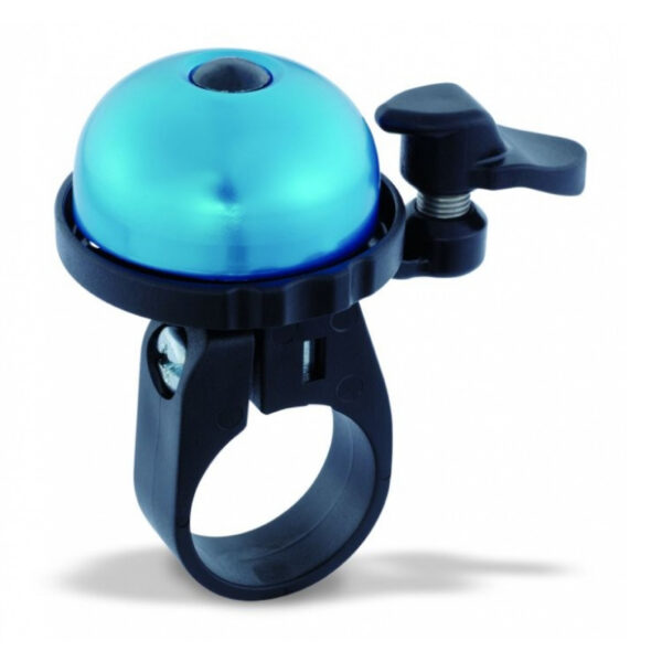 Фото Звонок VENZO с креплением на 22мм синий