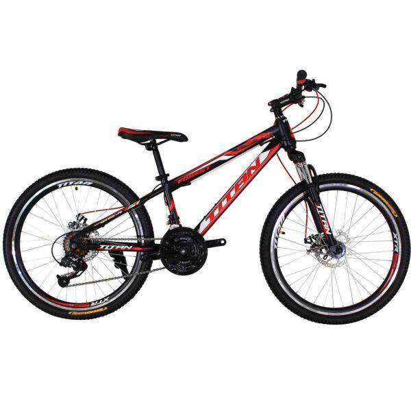 Фото Горный Велосипед Titan Forest 24 черно-красно-белый