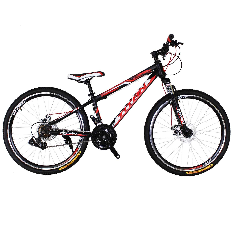 Фото Горный Велосипед Titan Forest 26 черно-красно-белый
