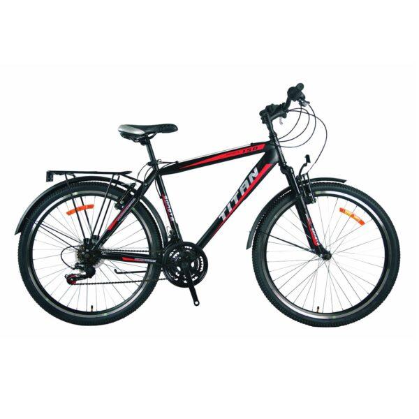 Фото Городской Велосипед 26 Titan Sonata черно-красно-белый 2019
