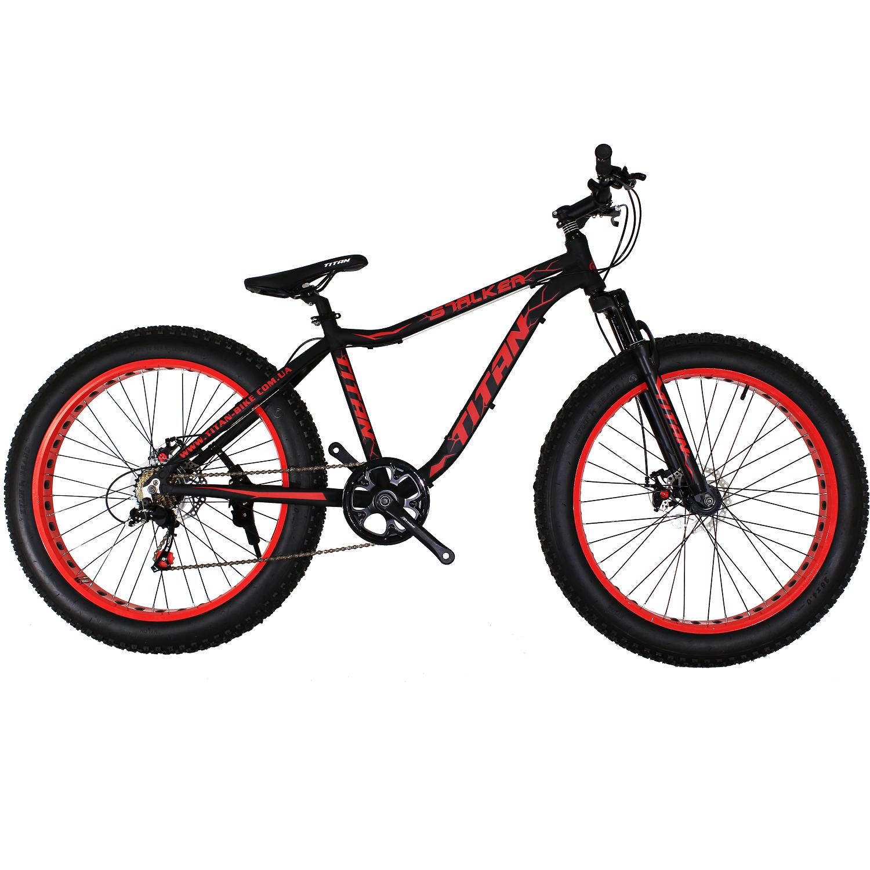Фото Горный Велосипед Titan Stalker 26 черно-красный