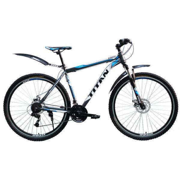 """Фото Горный Велосипед Titan Street 29"""" синий"""